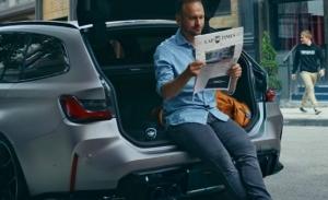 El nuevo BMW M3 Touring 2022 se deja ver tímidamente en un primer teaser