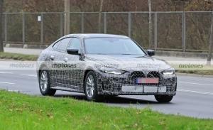 Los prototipos del nuevo BMW Serie 4 Gran Coupé 2022 se destapan en su recta final