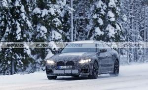 El nuevo BMW M440i xDrive Gran Coupé 2022 cazado en las pruebas de invierno