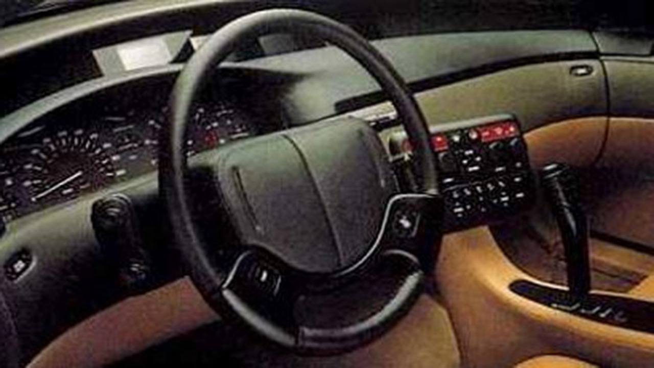Cadillac Solitarie Concept - interior