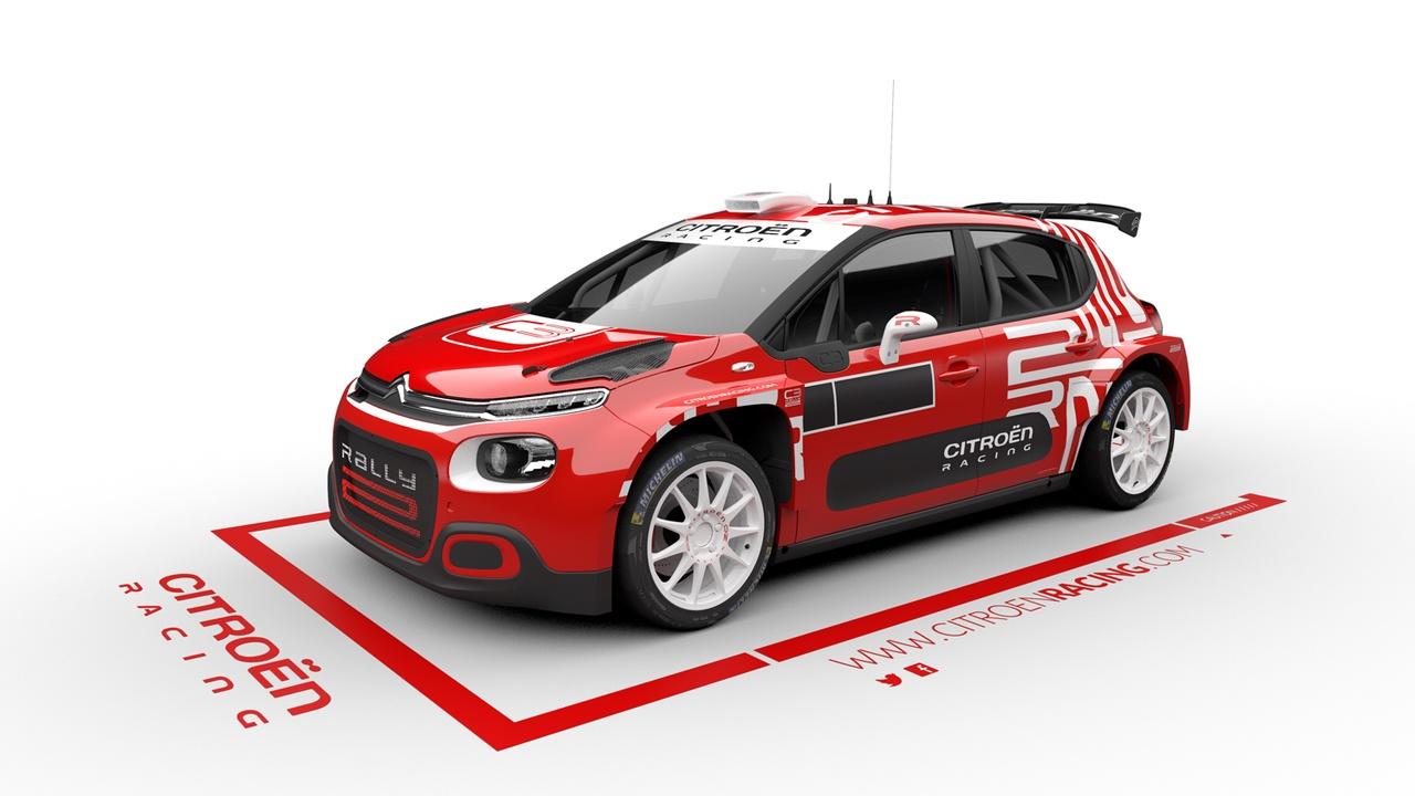 El Citroën C3 R5 estrena novedades para pasar a ser C3 Rally2