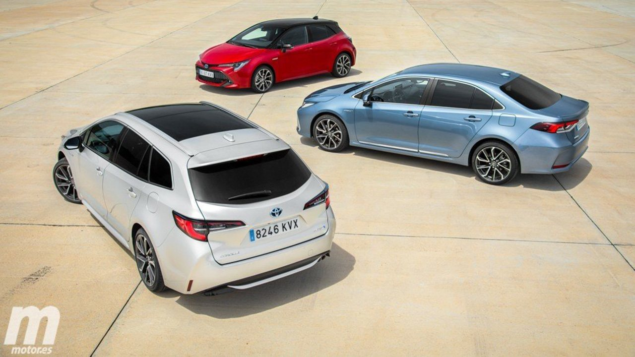Los 10 coches híbridos más vendidos en noviembre de 2020