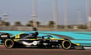 Alonso, mejor tiempo y más de 100 vueltas en el test de Abu Dhabi
