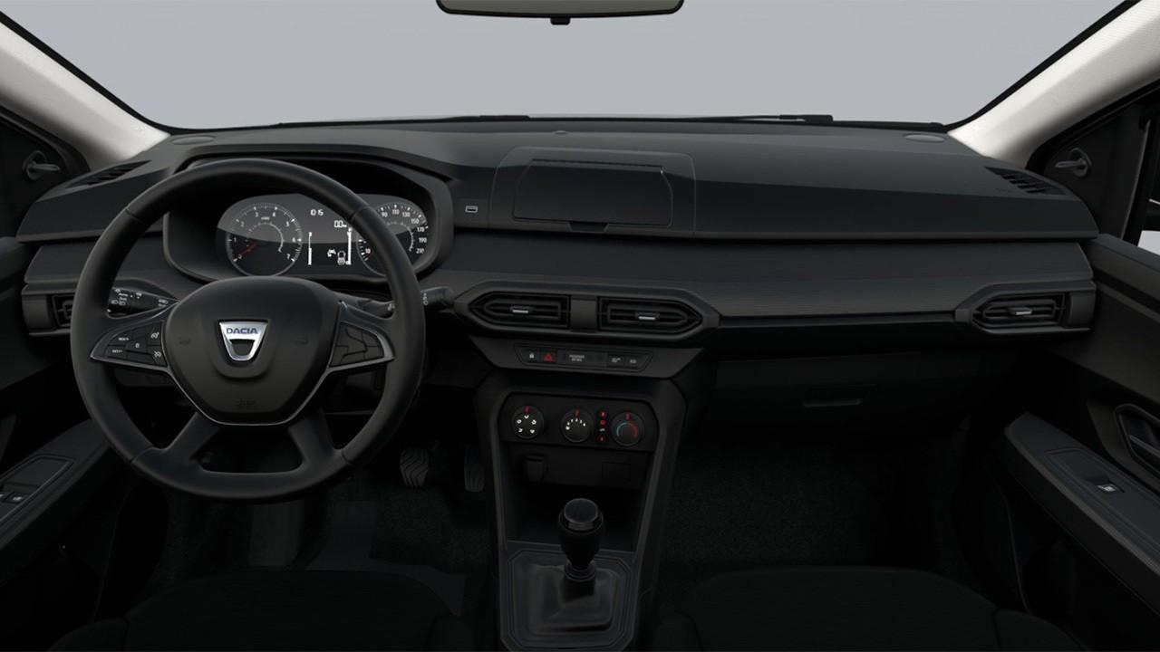 Dacia Sandero Access 2021 - interior