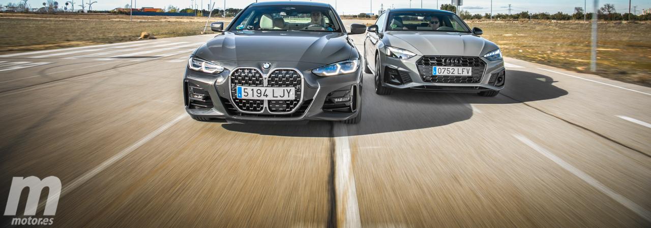 Comparativa BMW Serie 4 vs Audi A5, el coupé que debes comprarte es... (con vídeo)
