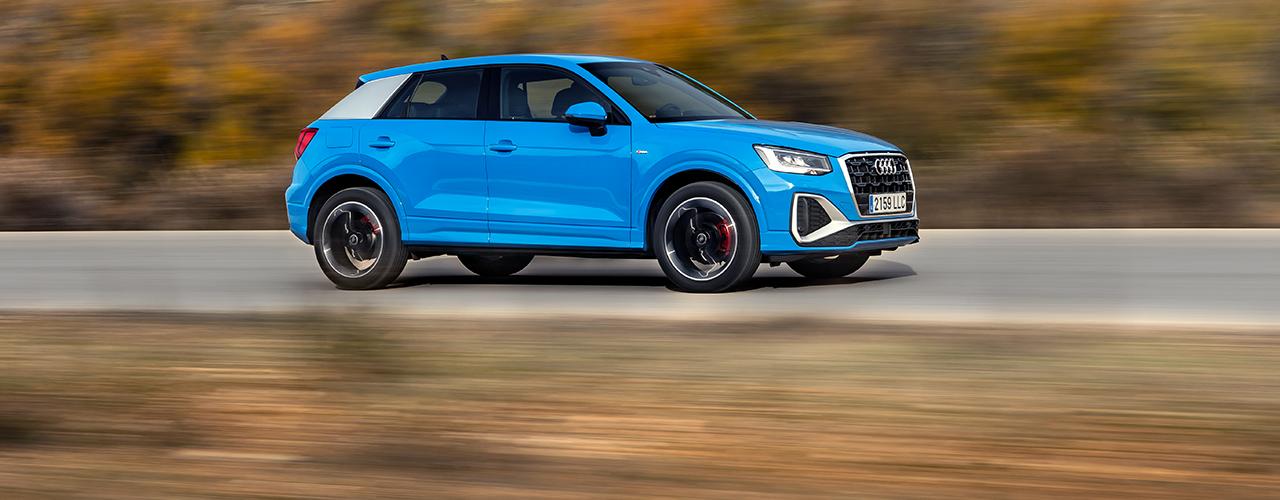 Prueba Audi Q2 2021, actualización tecnológica