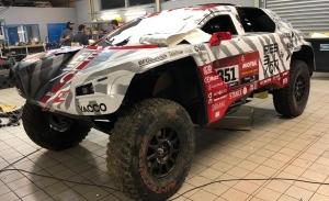 El equipo Rebellion Racing volverá a tener dos buggies en el Dakar 2021
