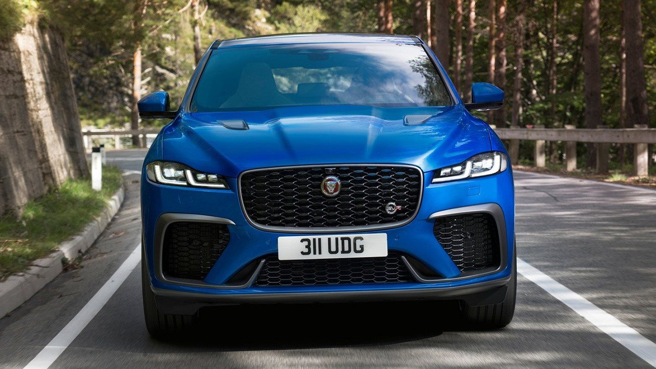 Jaguar F-Pace SVR 2021, combinando deportividad con lujo y refinamiento - Motor.es