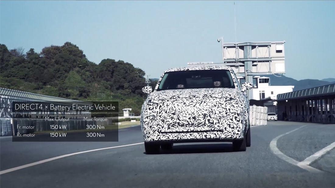 Lexus revela las especificaciones del nuevo SUV eléctrico que presentará en 2021