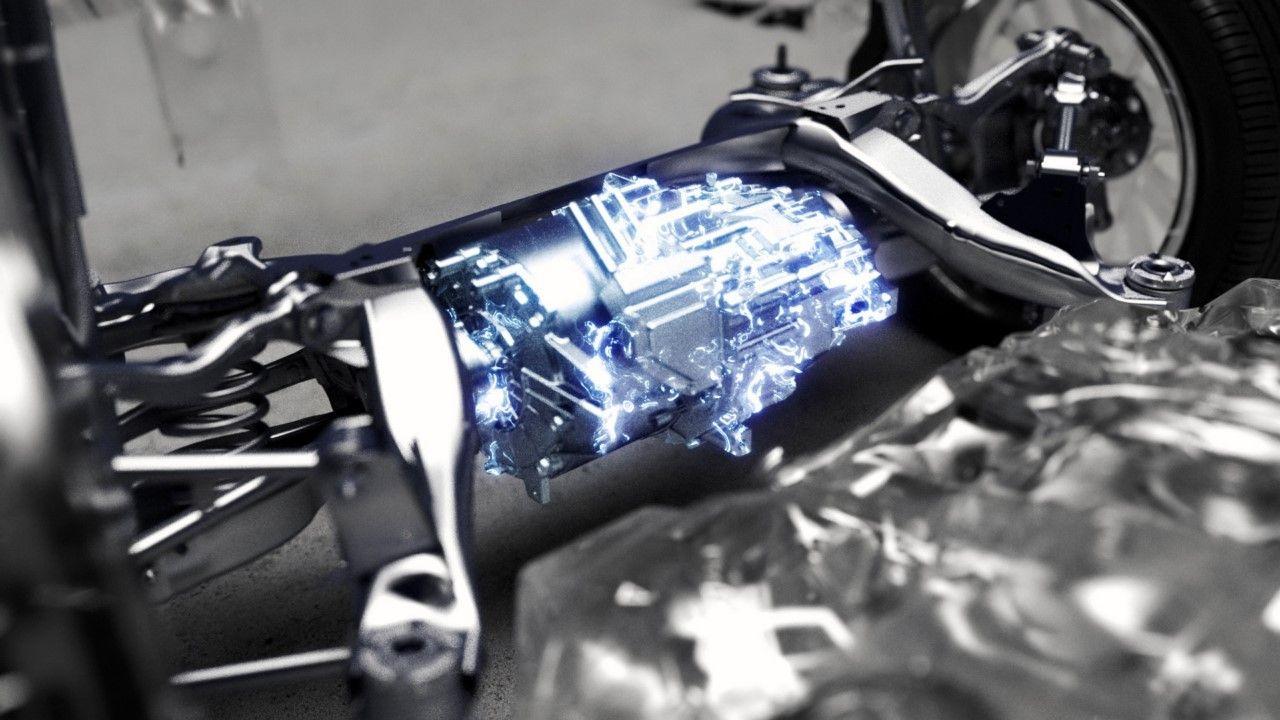 La tracción total eléctrica Lexus Direct 4 se ofrecerá en sus futuros electrificados