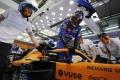 McLaren insiste: «Sainz no puede probar con Ferrari en Abu Dhabi»