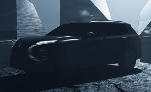 La marca de los tres diamantes presenta el primer teaser del Mitsubishi Outlander 2021