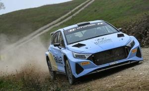 Ott Tänak también participa en los primeros test del Hyundai i20 N Rally2