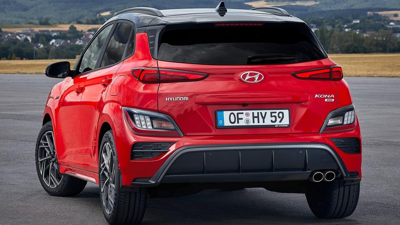 Hyundai Kona N Line - posterior