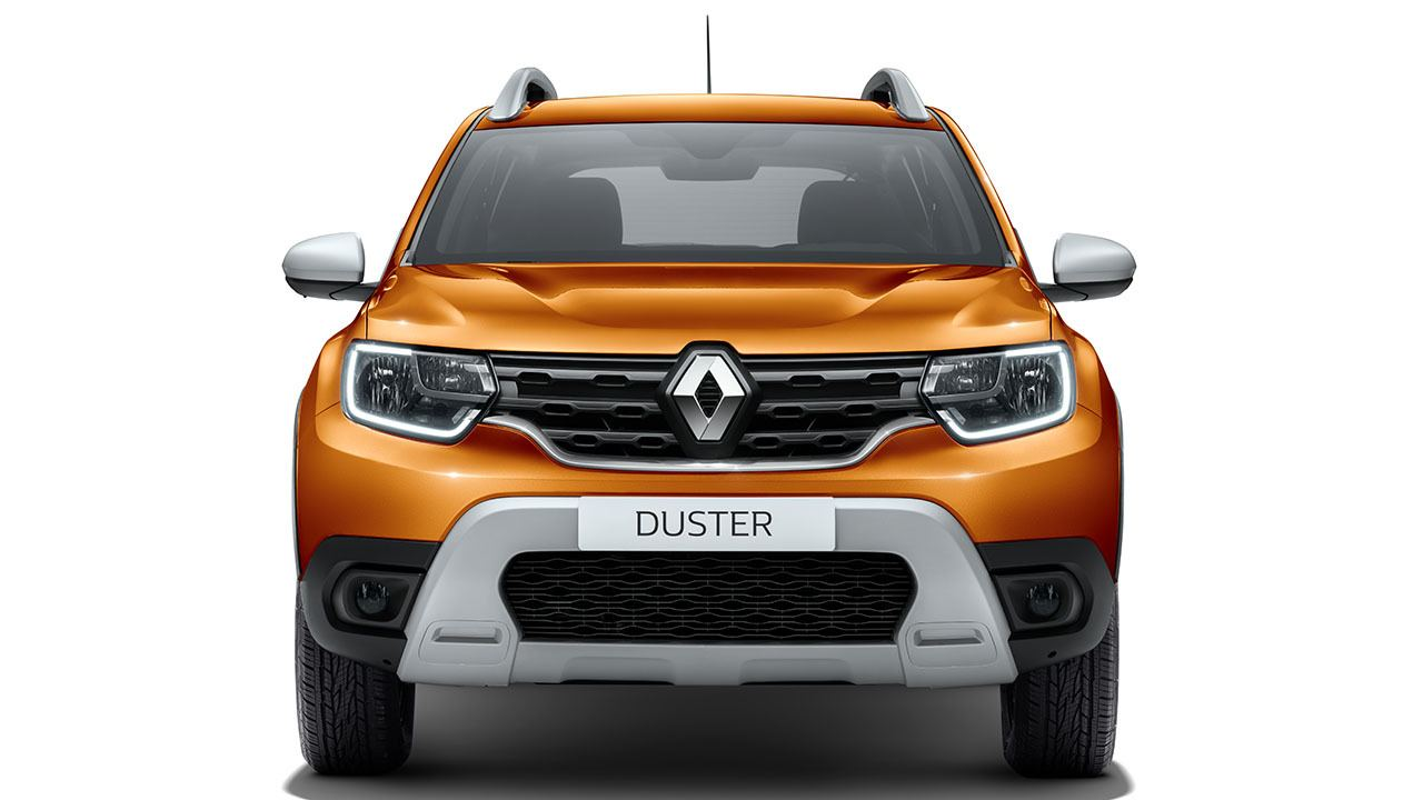 Renault Duster 2021 - frontal