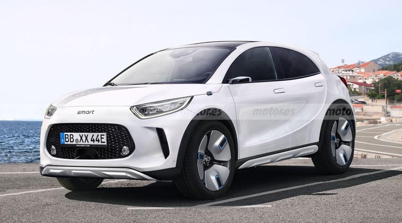 Smart confirma el futuro SUV eléctrico para 2022, basado en la plataforma SEA de Geely