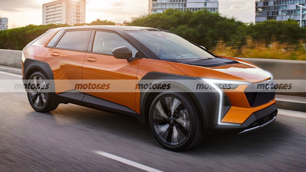 Subaru Evoltis 2022, el adelanto más fiel del primer SUV eléctrico de la firma nipona