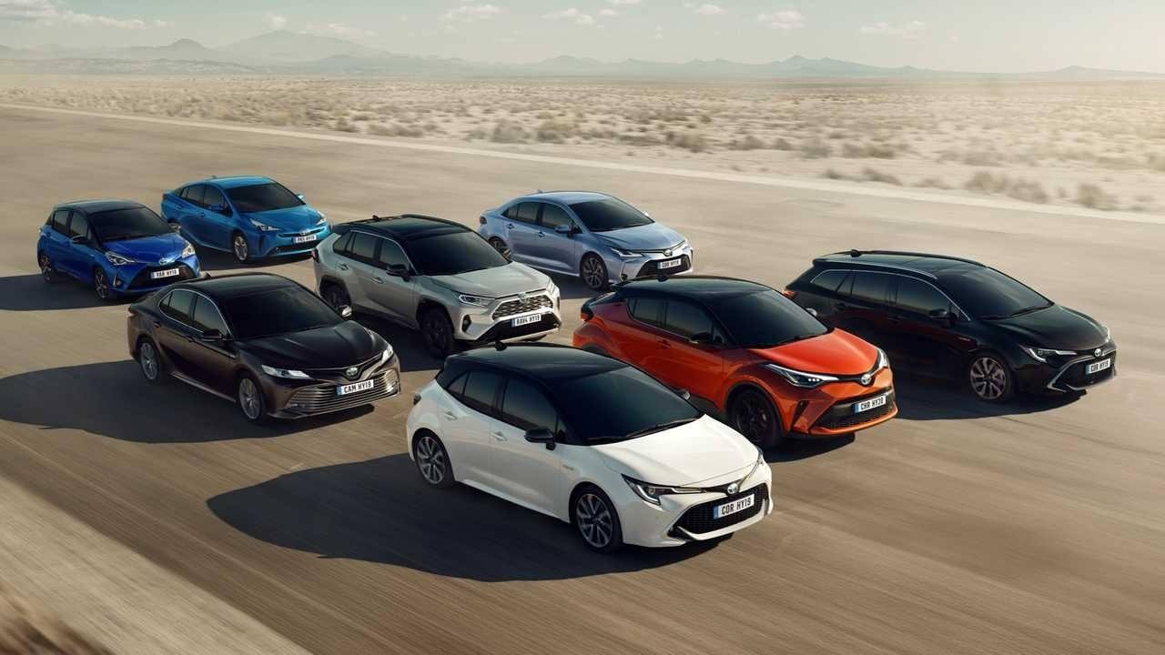 Toyota, la marca con la gama más completa de híbridos