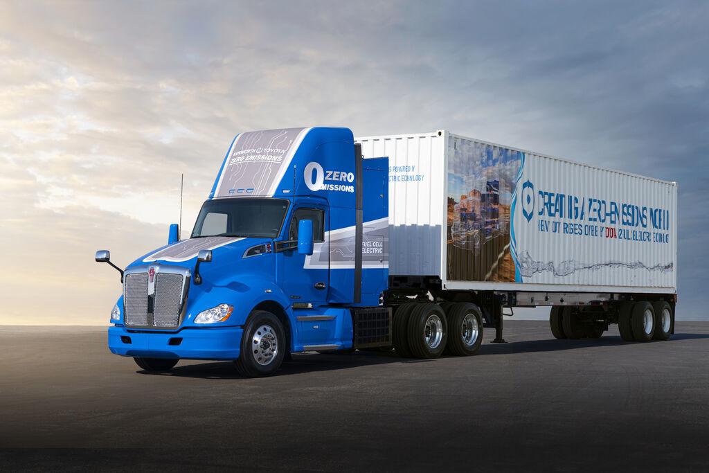 Toyota y Kenworth van a probar camiones de hidrógeno de segunda generación