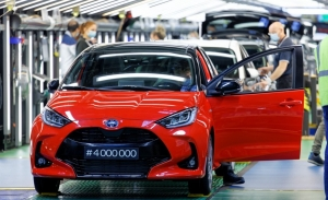 Nuevo récord de producción del Toyota Yaris, el utilitario llega a los 4 millones