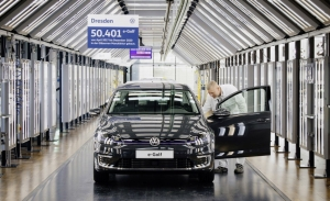 Termina la producción del Volkswagen e-Golf en la fábrica de cristal de Dresde