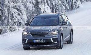 El nuevo Volkswagen ID.6 2022, cazado en una sesión frustrada de pruebas de invierno