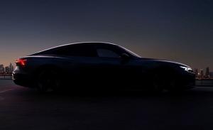 Nuevo avance del Audi e-tron GT 2021, un teaser presenta la deportiva silueta