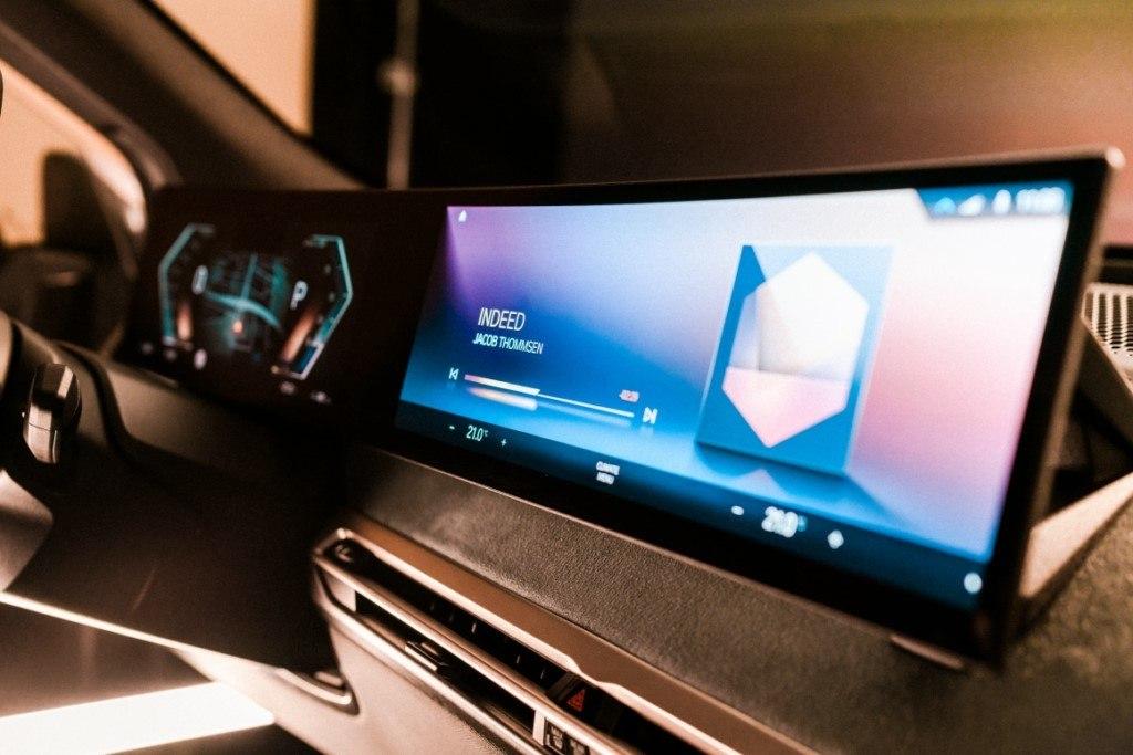 Foto BMW iX 2021 - interior