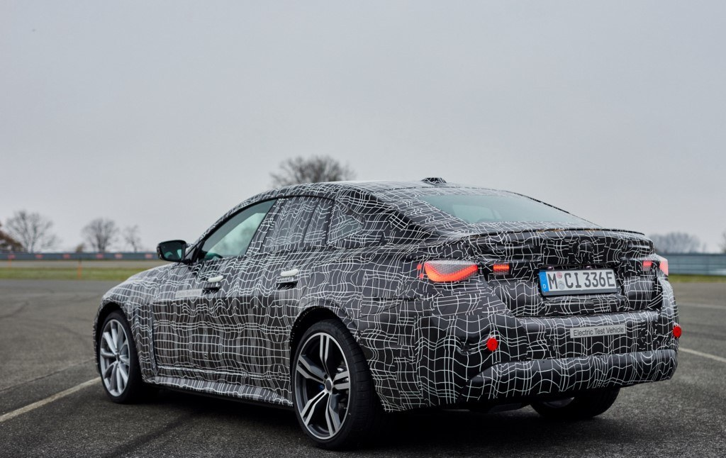 Teaser BMW i4 M50 xDrive 2021 - exterior