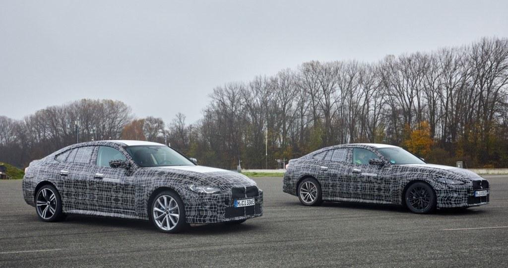 Los prototipos del nuevo BMW i4 2021 demuestran su capacidad en un vídeo teaser