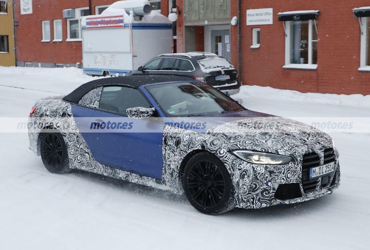 Foto espía BMW M4 Cabrio 2021 - exterior