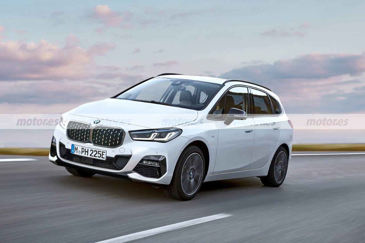 Nueva recreación más fiel del BMW Serie 2 Active Tourer 2022, el monovolumen bávaro