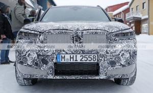El BMW X3 M Facelift 2022 posa en fotos espía en las pruebas de invierno