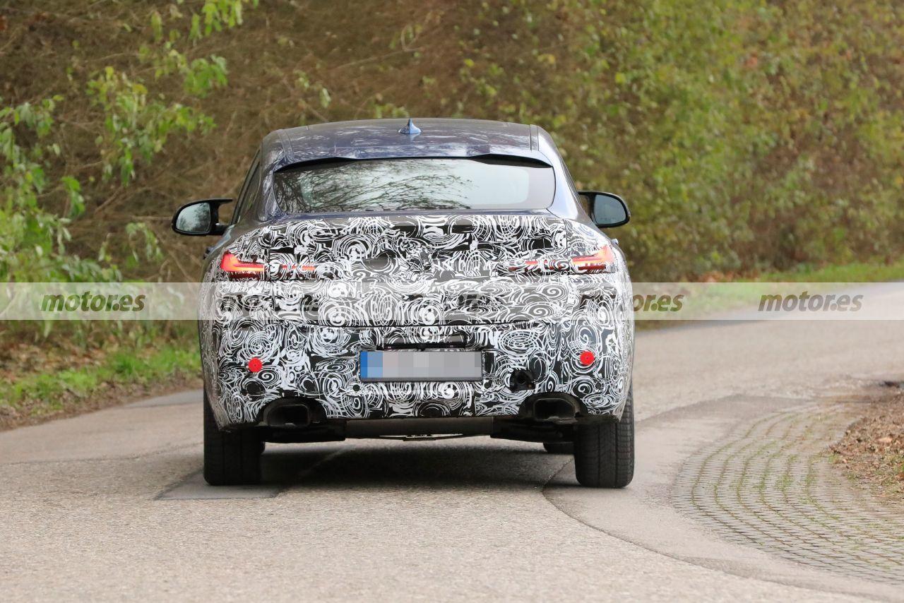 Spy photo BMW X4 M40 LCI 2022 - exterior