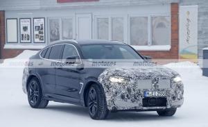 El BMW X4 M Facelift 2022 afronta sus pruebas de invierno al norte de Suecia