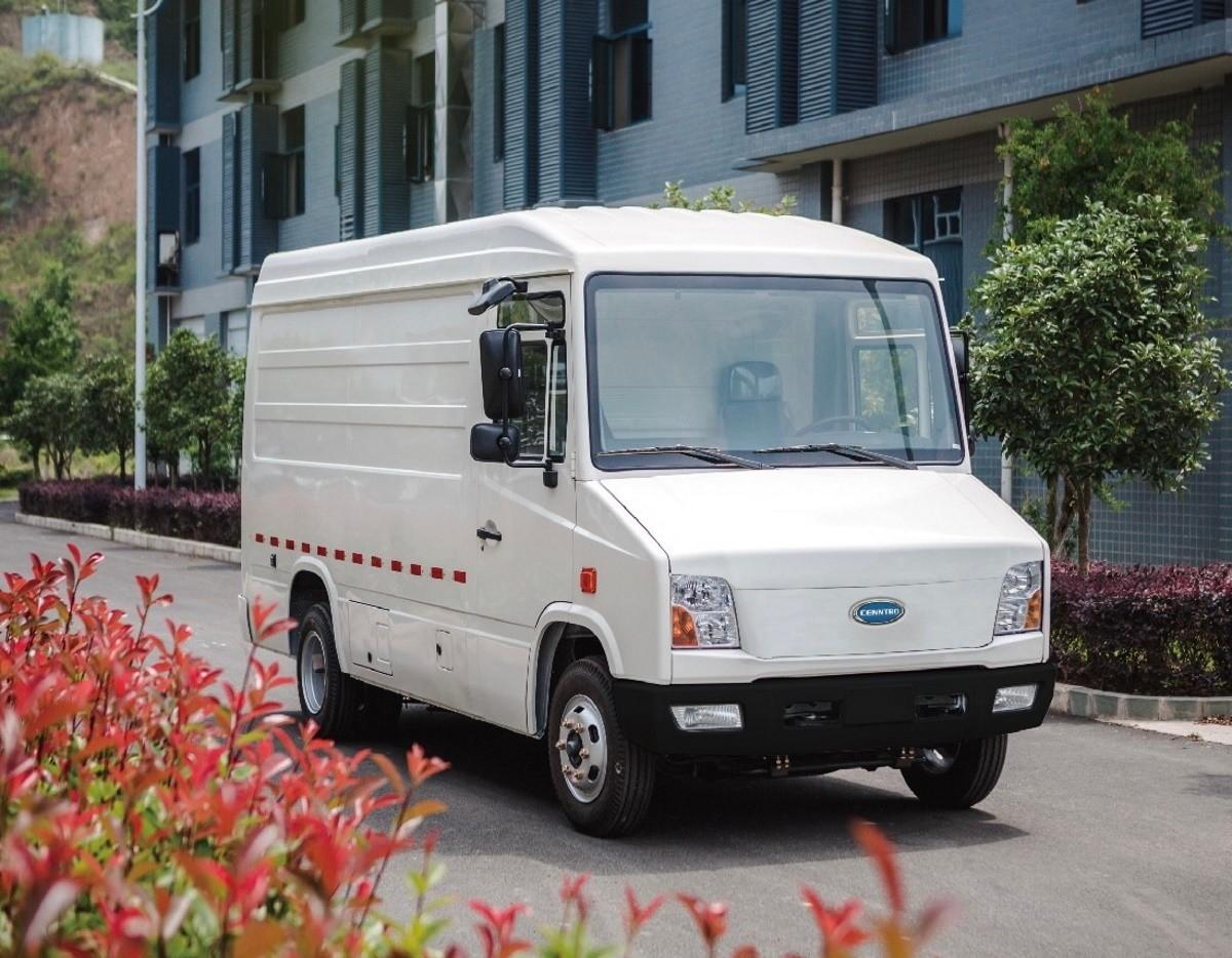 Cenntro CityPorter: llega una nueva furgoneta de reparto eléctrica desde China