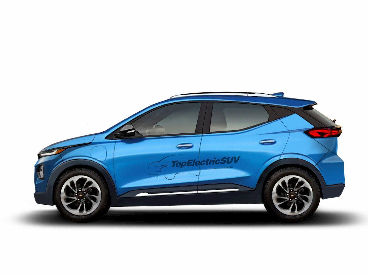 Este render destapa el aspecto del futuro Chevrolet Bolt EUV 2022