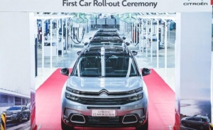 El Citroën C5 Aircross ya está siendo producido en la India