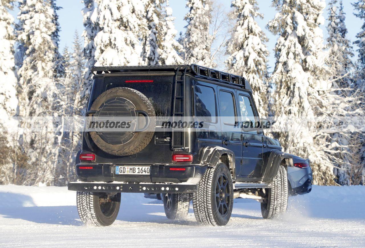 Fotos espía Mercedes-AMG G 63 4MATIC 4x4² 2021 - exterior
