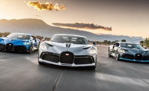 El Bugatti Divo triunfa en Estados Unidos