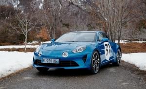 Esteban Ocon y el Alpine A110S, juntos en el Rally de Montecarlo