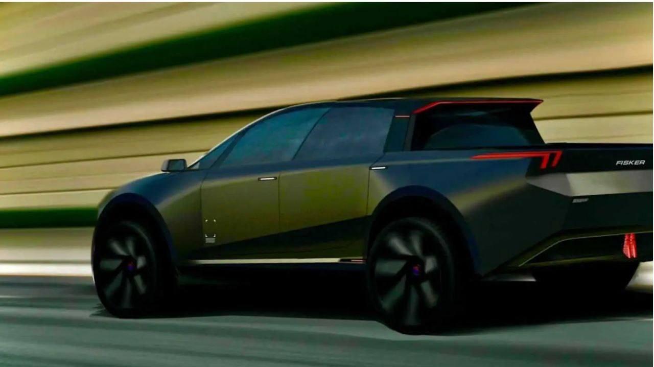 El nuevo Fisker Alaska, un nuevo pick-up eléctrico, se deja ver en un primer teaser