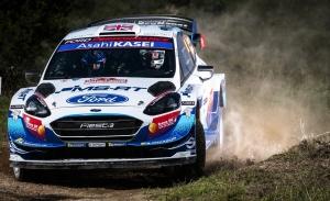 Greensmith, Fourmaux y Suninen se reparten los dos Ford de M-Sport