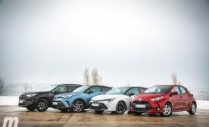 Analizamos la gama híbrida de Toyota, del más pequeño al más grande (Con vídeo)