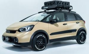 Honda Fit e:HEV Crosstar Custom, novedad en el Salón de Tokyo 2021