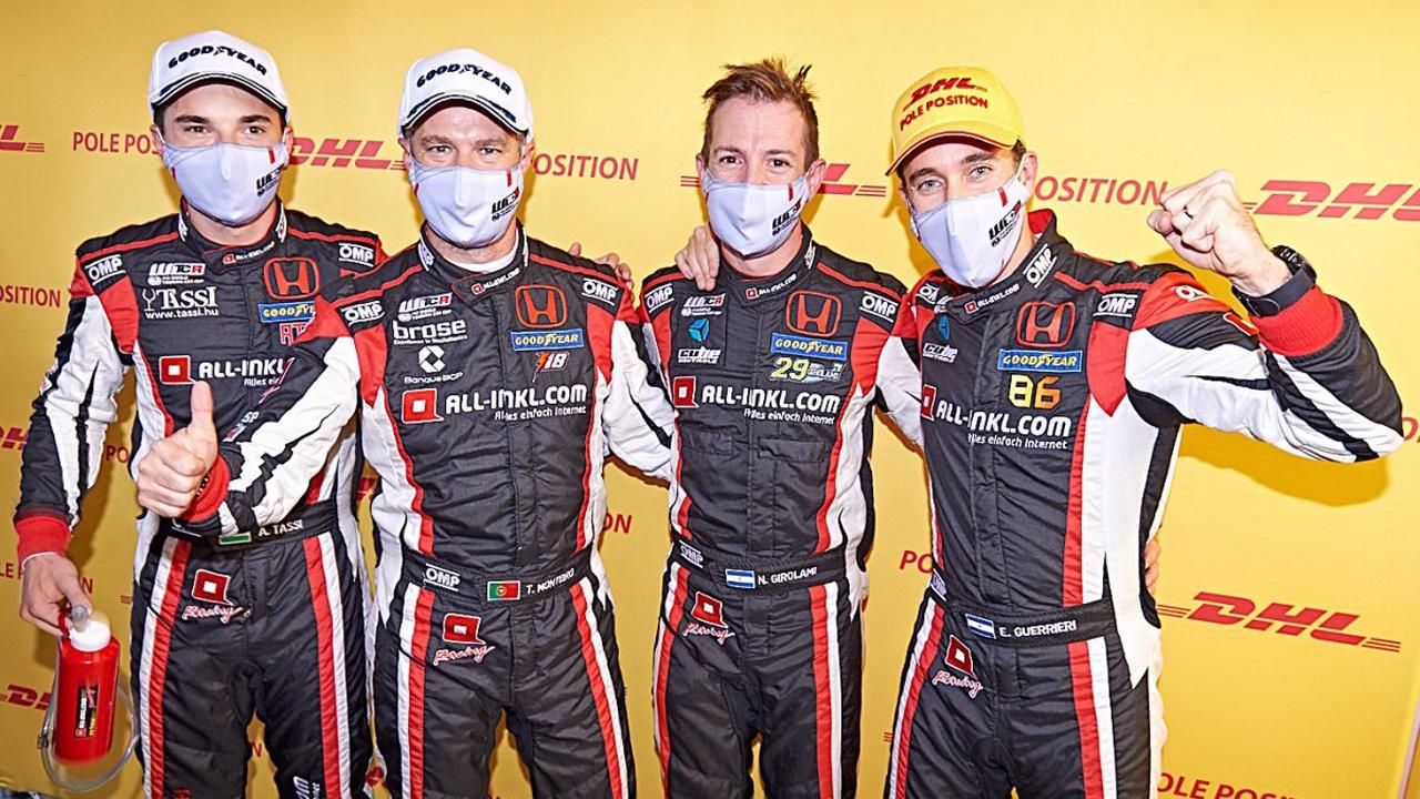 Honda repite con Guerrieri, Girolami, Tassi y Monteiro en el WTCR 2021
