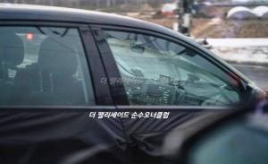 Nuevas fotos espía en Corea del Sur muestran el interior del IONIQ 5 2021