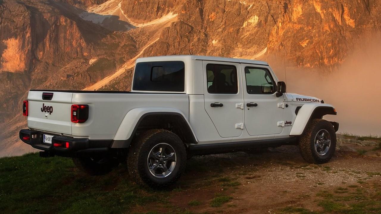 Jeep Gladiator - posterior