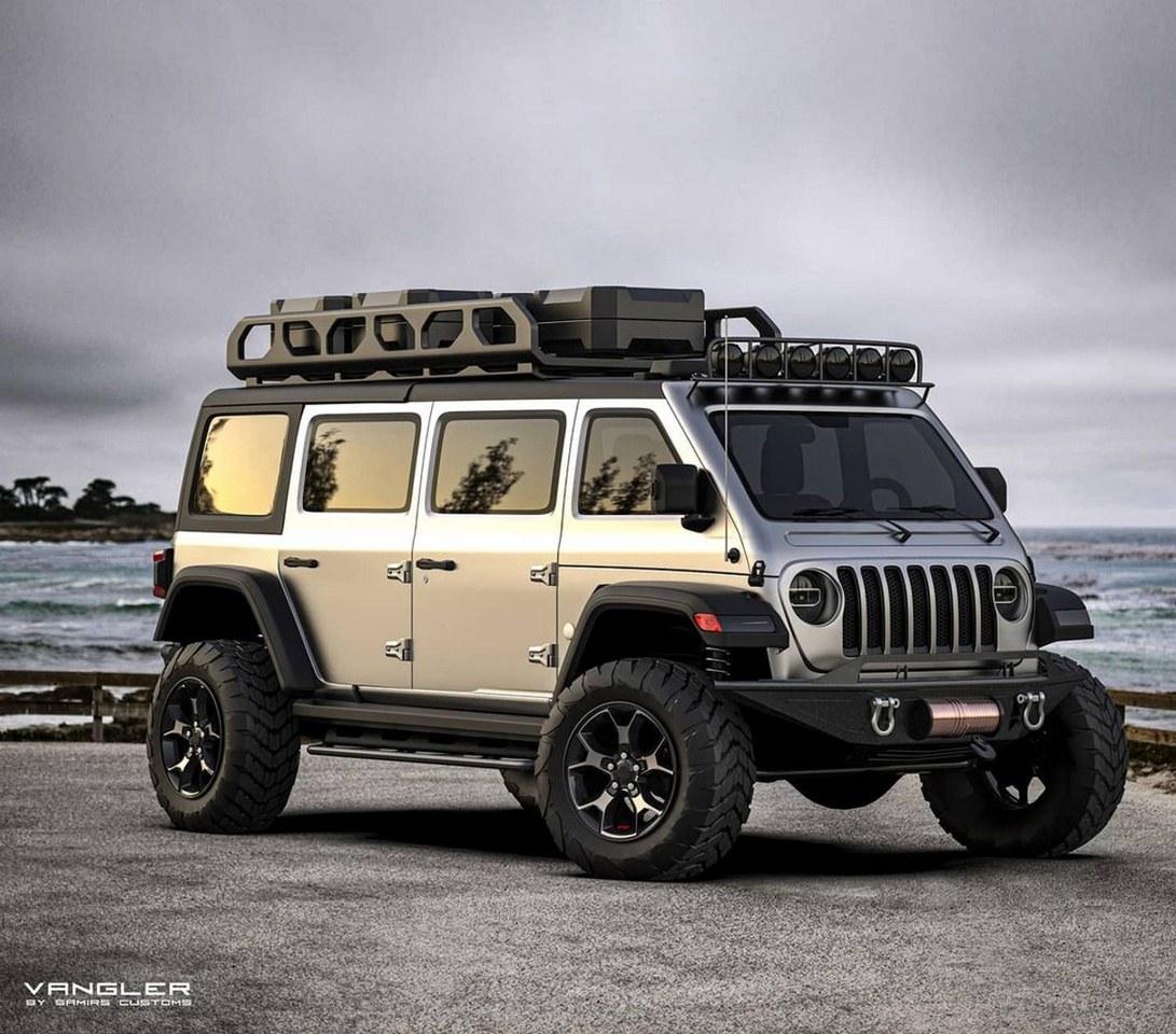 Este es el Jeep Wrangler monovolumen que Jeep debería haber fabricado en los 90s