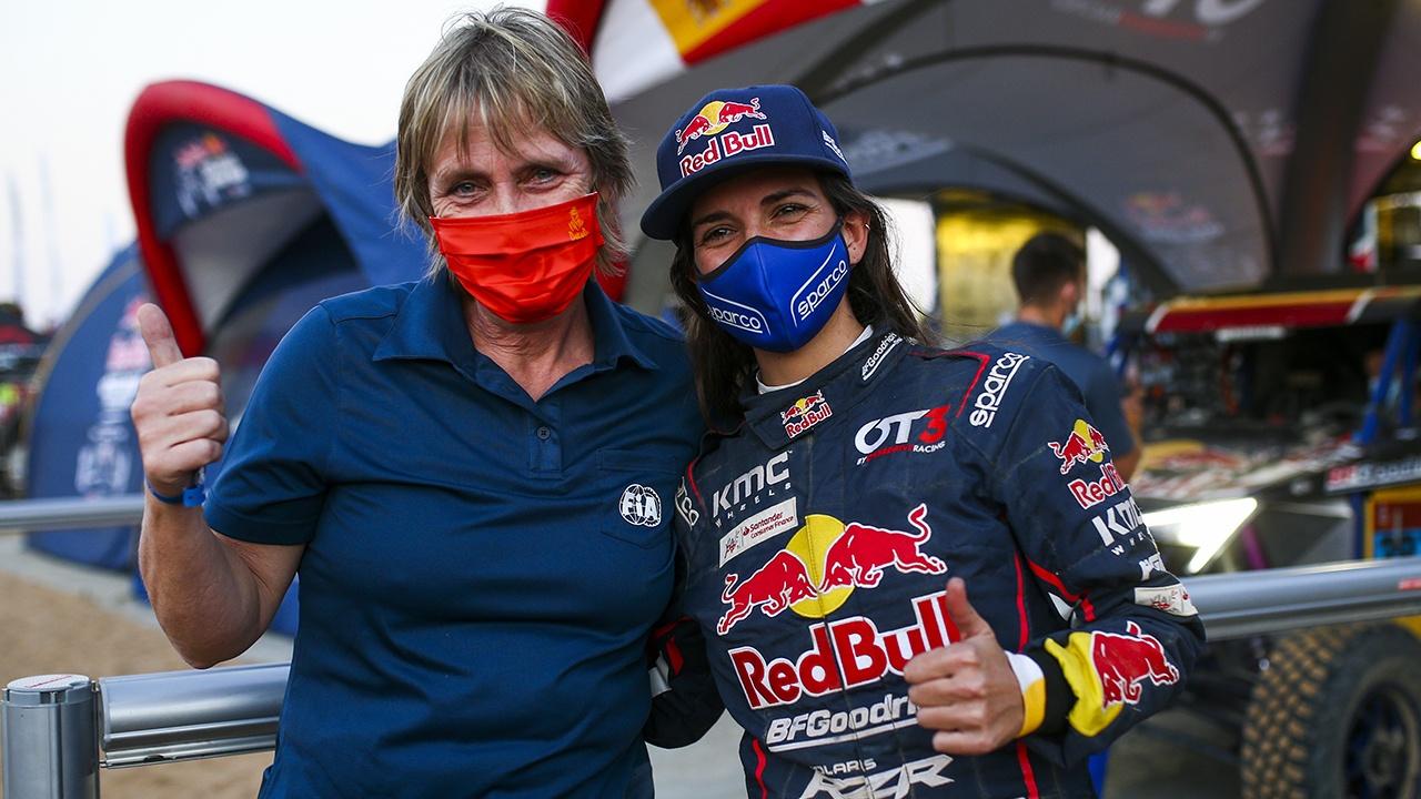 Cristina Gutiérrez, la mujer que va tras los pasos de Jutta Kleinschmidt